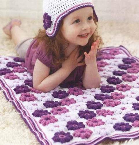 детский плед или коврик