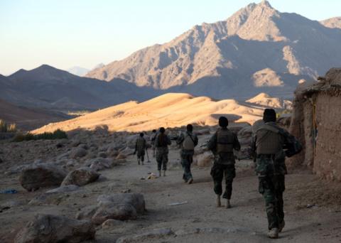 Большая игра в Афганистане. …