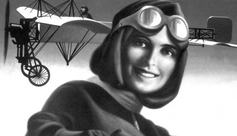 105 лет назад Француженка Элиз де Ларош стала первой женщиной-пилотом. Все  новости — все новости (вчера, сегодня, сейчас) от 123ru.net