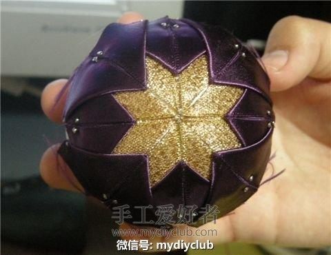 Елочные шары своими руками - подборка фото МК