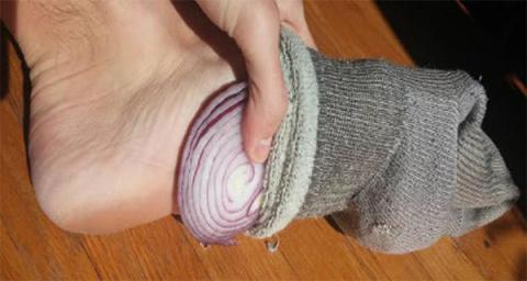 Как лук в носках может измен…