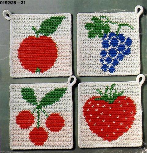 Фруктово-ягодные прихватки
