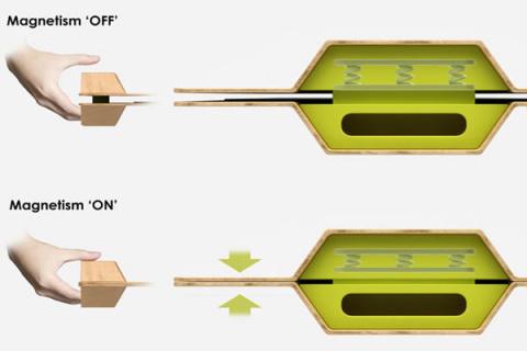Магнитный поднос Magic Magnetic Tray
