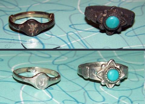 Почему серебро на украшениях темнеет?