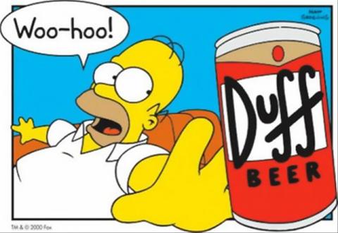 В продаже появится пиво из Симпсонов