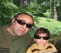 Я и Илья внук