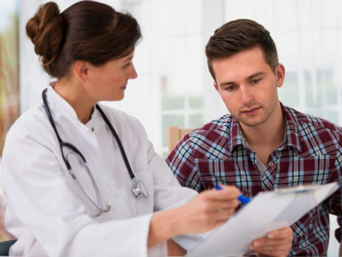 Разговор между пациенткой и …