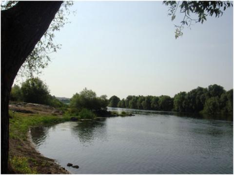 Удивительные места Украины: озеро Баластное