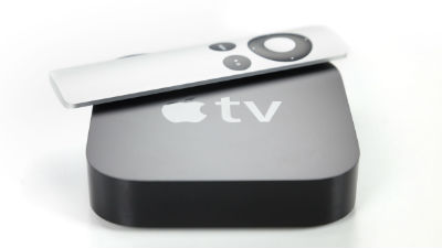 Новую телеприставку Apple TV…