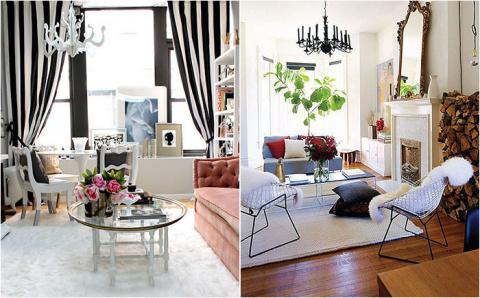 Гостиные в стиле потёртого шика от лучших дизайнеров мира