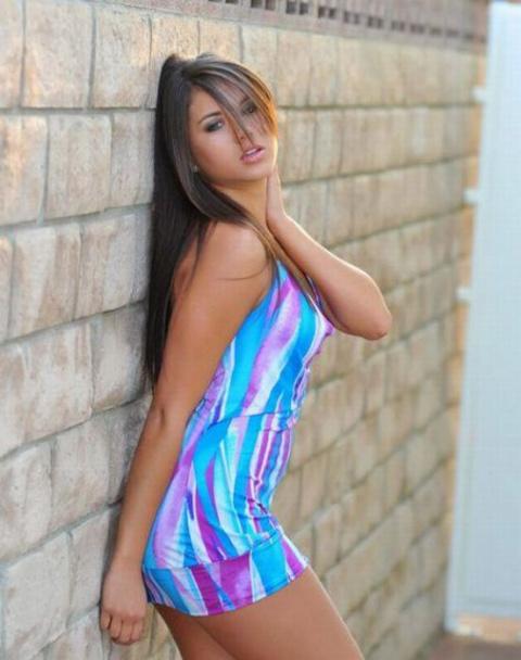 Девушки в коротких платьях (…