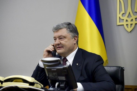 Порошенко по телефону поздравил лидеров «Меджлиса»* с освобождением