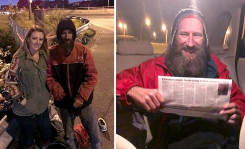 Бездомный отдал последние де…