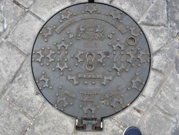 Канализационные люки в городах Мира. Фото.