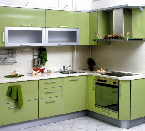 Планировка угловой кухни: ст…
