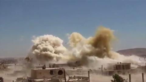 В Сирии разбился истребитель