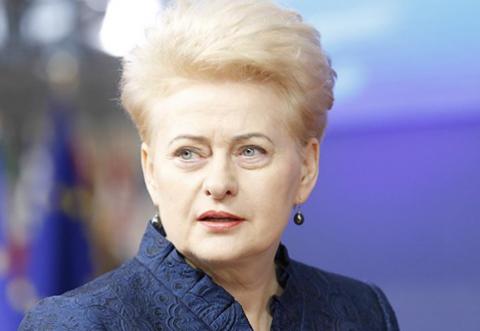 Грибаускайте заявила о готовности сотрудничать с Россией