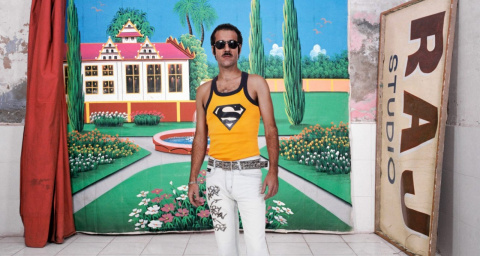 Шик и богатство: Мощь индийских фотоателье в проекте Оливье Кюльманна