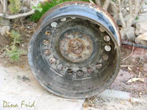 Это всего лишь старый обод колеса. Но ты даже не представляешь, во что его можно превратить!