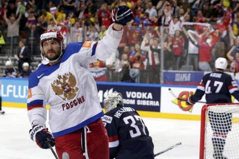 Сборная России вышла в финал Чемпионата мира по хоккею