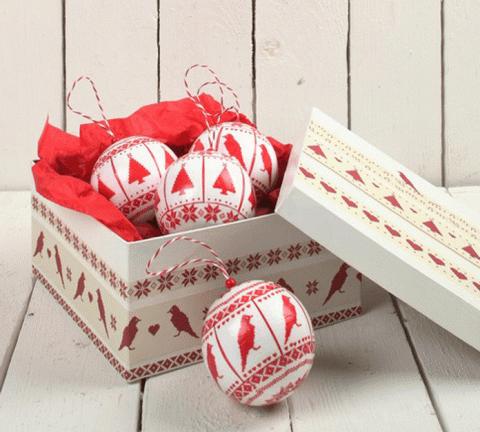 Новогодний шар из гофрированной бумаги своими руками