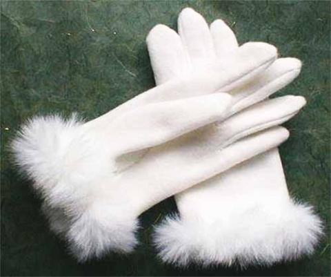 выкройка перчаток