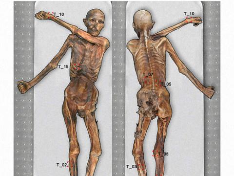 Как выглядит самая старая татуировка в мире