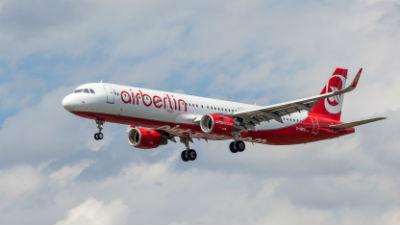 Air Berlin начнет летать в Калугу с 1 ноября