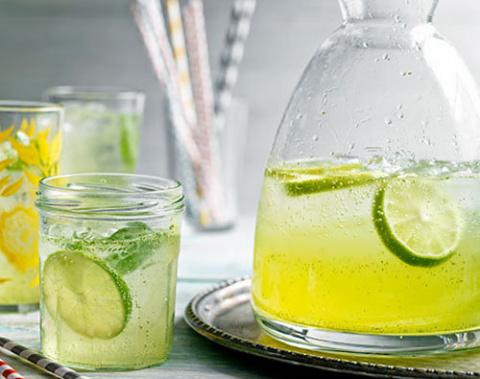 Домашний лимонад из базилика