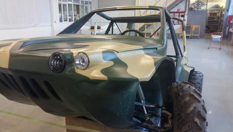 Российский автомобиль-амфиби…