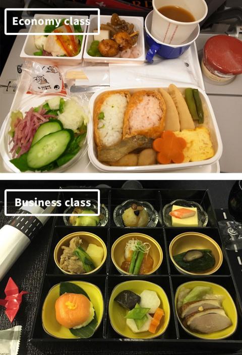 Что едят в самолетах разных …