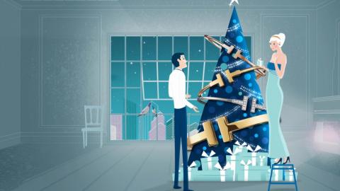 Рождество от Tiffany
