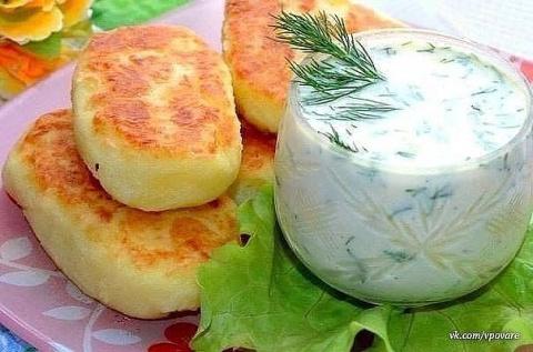 Обалденные картофельные олад…