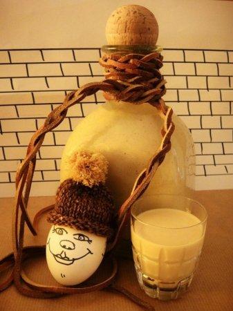 Яичный ликер на коньяке со сгущенкой