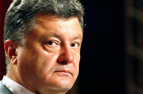 Порошенко обещал запретить георгиевские ленточки на Украине