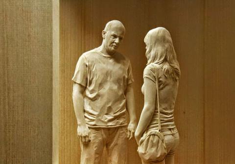 Удивительно реалистичные деревянные скульптуры