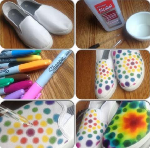 Идеи переделки обуви