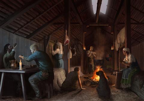 Повседневная жизнь викингов