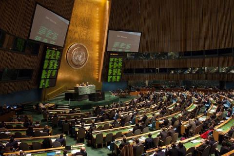 Правильно ли поступили с Украинской делигацией на сессии ООН?