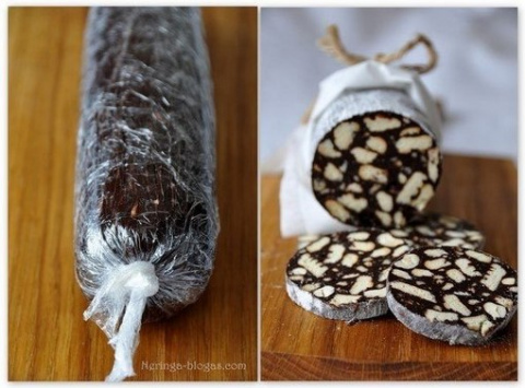 Шоколадное салями