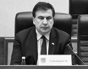 Одесситы призвали Саакашвили вернуться домой