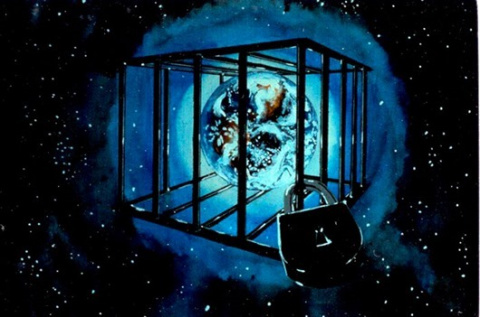 Земля - это планета -тюрьма,…