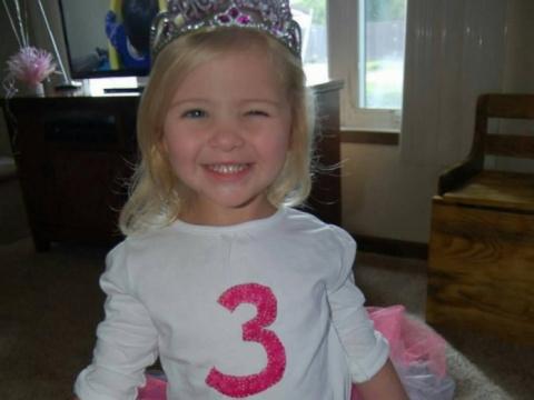 Эта 3-летняя девочка умерла …