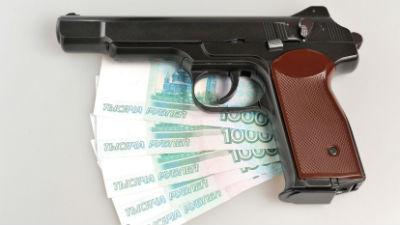 В Москве грабитель-одиночка …
