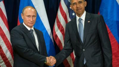 Путин: Беседа с Обамой была …