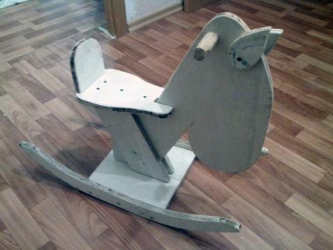 Наша лошадка-качалка (идея из сети)