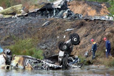 Пилот разбившегося под Ярославлем Як-42 жал на тормоз