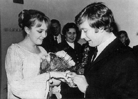 Свадебные фото советских зна…