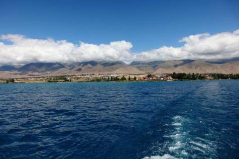 Тайны озера Иссык-Куль (5 фото)