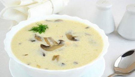 Грибной суп из шампиньонов –…